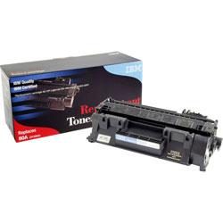 IBM Remanufactured Toner Cartridge, Alternative for HP 80A (CF280A), Laser, 2700 Pages, Black, 1 Each