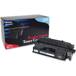 IBM Remanufactured Toner Cartridge, Alternative for HP 80X (CF280X), Laser, High Yield, 6900 Pages, Black, 1 Each