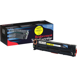 IBM Remanufactured Toner Cartridge, Alternative for HP 305A (CE412A), Laser, 2600 Pages, Yellow, 1 Each