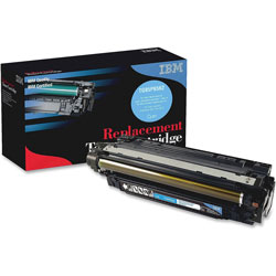 IBM Remanufactured Toner Cartridge, Alternative for HP 507A (CE401A), Laser, 6000 Pages, Cyan, 1 Each