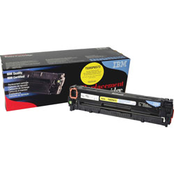 IBM Remanufactured Toner Cartridge, Alternative for HP 131A (CF212A), Laser, 1800 Pages, Yellow, 1 Each
