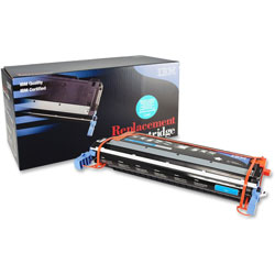 IBM Remanufactured Toner Cartridge, Alternative for HP 645A (C9731A), Laser, 12000 Pages, Cyan, 1 Each