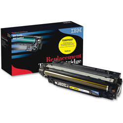 IBM Remanufactured Toner Cartridge, Alternative for HP 654A (CF332A), Laser, 15000 Pages, Yellow, 1 Each