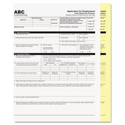 Iconex Digital Carbonless Paper, 2-Part, 8.5 x 11, White/Canary, 2, 500/Carton