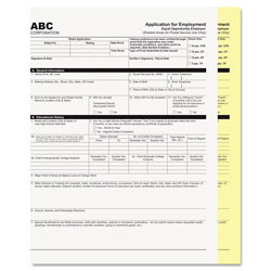 Iconex Digital Carbonless Paper, 2-Part, 8.5 x 11, White/Canary, 1, 250/Carton