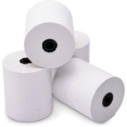 Iconex Paper Rolls, Thermal, F/Pos, 3-1/8 inX220', 50/Ct, White