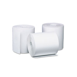 Iconex Direct Thermal Printing Thermal Paper Rolls, 3.13 in x 119 ft, White, 50/Carton