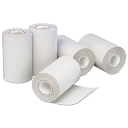 Iconex Direct Thermal Printing Paper Rolls, 0.5 in Core, 2.25 in x 55 ft, White, 50/Carton