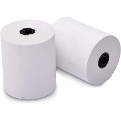Iconex Paper Rolls, Thermal, F/Pos, 3-1/8 inX200', 50/Ct, White