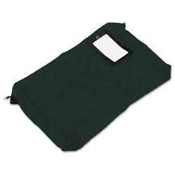 SecurIT® Expandable Dark Green Transit Sack, 18w x 4d x 14h