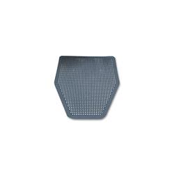 Impact Disposable Urinal Floor Mat, Nonslip, Green Apple Scent, Gray, 6/Carton