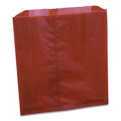 Impact Waxed Sanitary Napkin Disposal Liners, 9.25 x 0.3 x 10.45, Brown, 250/Carton