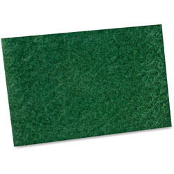 Impact Scouring Pad,General Purpose,9 in x 6 in,6BG/CT,Green