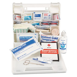 Impact First Aid Kit for 50 People, 194-Pieces, Plastic Case