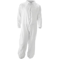 Impact Promax Coverall, Large, 25/CT, White