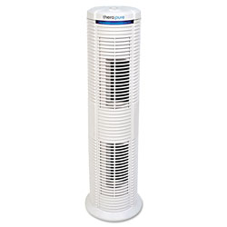 Therapure TPP230M HEPA-Type Air Purifier, 183 sq ft Room Capacity, White