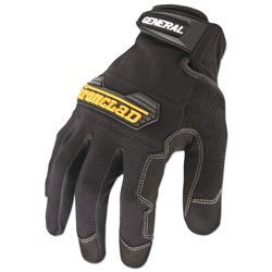 Ironclad General Utility Spandex Gloves, Black, X-Large, Pair