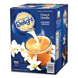 International Delight Flavored Liquid Non-Dairy Coffee Creamer, French Vanilla, 0.4375 oz Cups, 192/CT