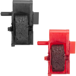 Industrias Kores Ink Roller, F/Calculator, 2/PK, 1 Black/1 Red
