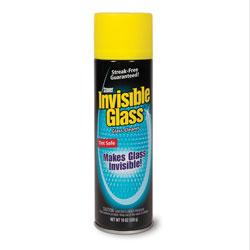 Invisible Glass® Premium Glass Cleaner, 19 oz Aerosol, 6/Carton