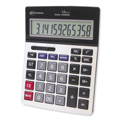 Innovera 15968 Profit Analyzer Calculator, Dual Power, 12-Digit LCD Display