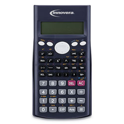 Innovera 15969 Scientific Calculator, 240 Functions, 10-Digit LCD, Two Display Lines
