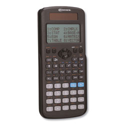 Innovera Advanced Scientific Calculator, 417 Functions, 15-Digit LCD, Four Display Lines
