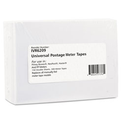 Innovera Postage Labels, 3.5 x 5.25, White, 2/Sheet, 150 Sheets/Box
