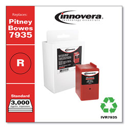 Innovera Compatible Red Ink, Replacement For Pitney Bowes 7935, 3000 Page Yield
