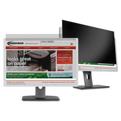 Innovera Blackout Privacy Filter for 21.5 in Widescreen LCD Monitor, 16:9 Aspect Ratio