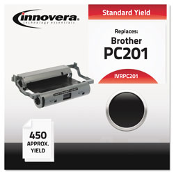 Innovera Compatible PC201 Thermal Transfer Print Cartridge, 450 Page-Yield, Black