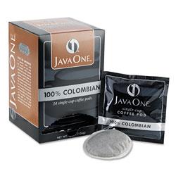 Java One™ 30200 Single Cup Coffee Pods, Columbian Supremo