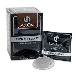 Java One™ 30800 Single Cup Coffee Pods, French Roast