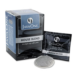 Java One™ Coffee Pods, House Blend, Single Cup, 14/Box