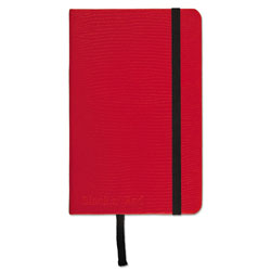 Black N' Red Red Casebound Hardcover Notebook, Wide/Legal Rule, Red Cover, 5.5 x 3.5, 71 Sheets