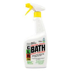 CLR Bath Daily Cleaner, Light Lavender Scent, 32oz Pump Spray, 6/Carton