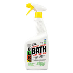 Jelmar Bath Daily Cleaner, Light Lavender Scent, 32 oz Pump Spray, 6/Carton