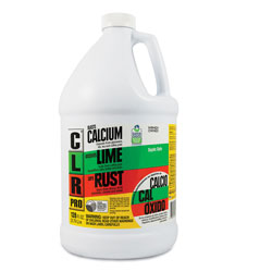 CLR Calcium, Lime and Rust Remover, 1 gal Bottle, 4/Carton