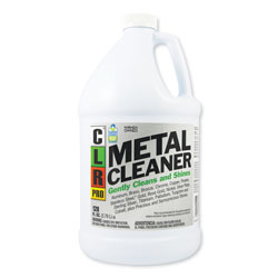 CLR Metal Cleaner, 128 oz Bottle, 4/Carton