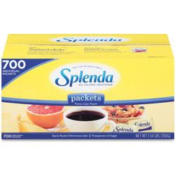Splenda® Sugar Substitute Packets, 1.0g, 700/BX, Yellow