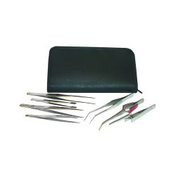 JS 7 Piece Tweezer Set