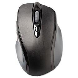 Acco Pro Fit Mid-Size Wireless Mouse, 2.4 GHz Frequency/30 ft Wireless Range, Right Hand Use, Black