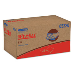 WypAll* L10 Cleaning Wipes, White, Case of 18