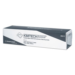 Kimtech* Precision Wipers, POP-UP Box, 2-Ply, 14.7 x 16.6, White, 90/Box