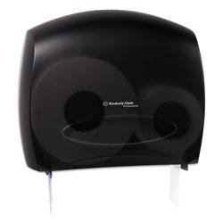 Scott® JRT Jr. Escort Jumbo Bathroom Tissue Dispenser, 13.33 in x 5.75 in x 16 in, Smoke