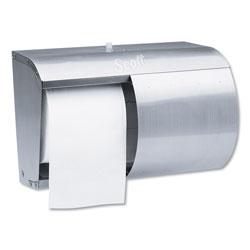 Scott® Pro Coreless SRB Tissue Dispenser, 7 1/10 x 10 1/10 x 6 2/5, Stainless Steel