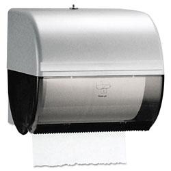Kimberly-Clark Omni Roll Towel Dispenser, 10 1/2 x 10 x 10, Smoke/Gray
