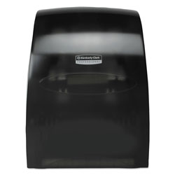Kimberly-Clark Sanitouch Hard Roll Towel Dispenser, 12 63/100w x 10 1/5d x 16 13/100h, Smoke