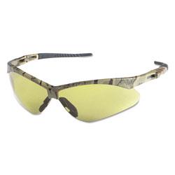 KleenGuard* Nemesis Safety Glasses, Camo Frame, Amber Anti-Fog Lens