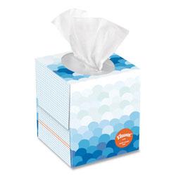 Kleenex Anti-Viral Facial Tissue, 3-Ply, White, 60 Sheets/Box, 27 Boxes/Carton